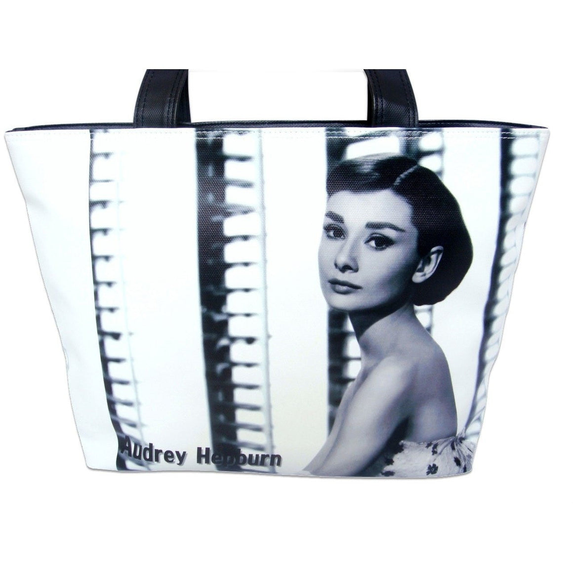 Audrey Hepburn Classic Cinema Retro Movie Tote Shoulder Bag Purse - SilverMania925
