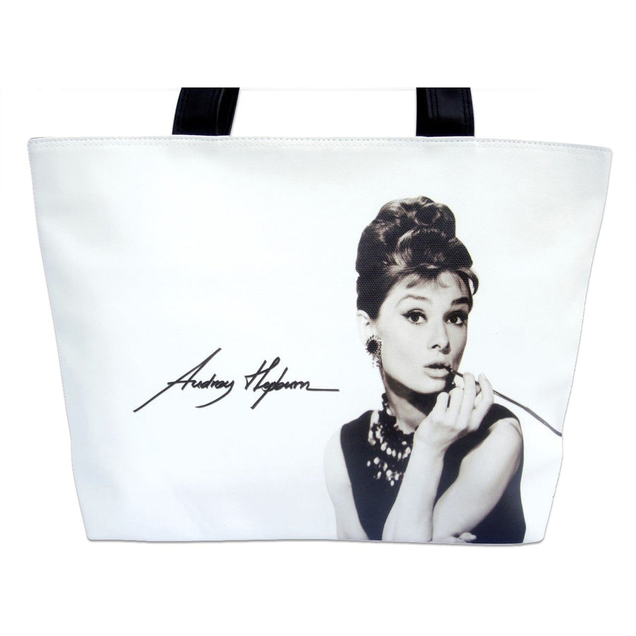 Audrey Hepburn Breakfast At Tiffany's Retro Shoulder Bag Purse - SilverMania925