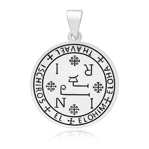 925 Sterling Silver Sigil of Archangel Thavael Pendant