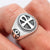 925 Sterling Silver Egyptian Ankh Cross Ring