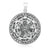 925 Sterling Silver The Seals of the Seven Archangels Solomon Pendant
