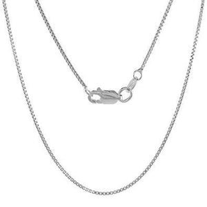 925 Sterling Silver Box Type Jewelry Chain