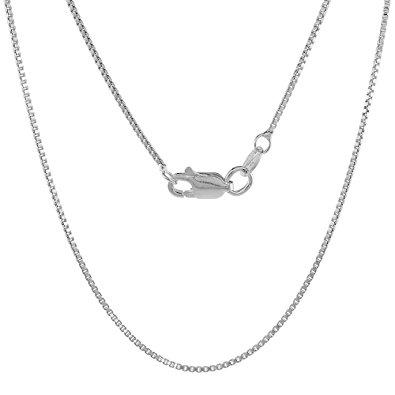 925 Sterling Silver Box Type Jewelry Chain - SilverMania925