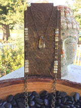 Citrine Double Necklace
