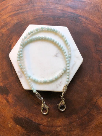 Amazonite Mask Holder