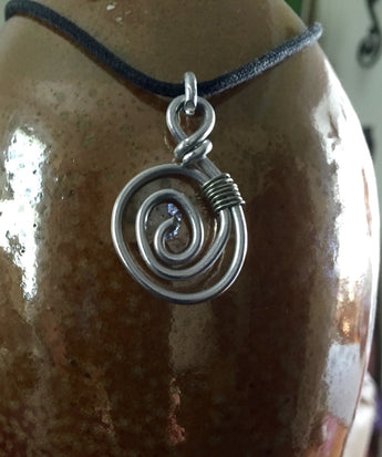 Spiral/Koru Choker 🌀 Taking Custom Orders