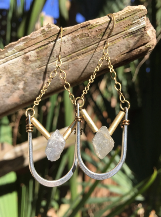 Labradorite Handcrafted Earrings