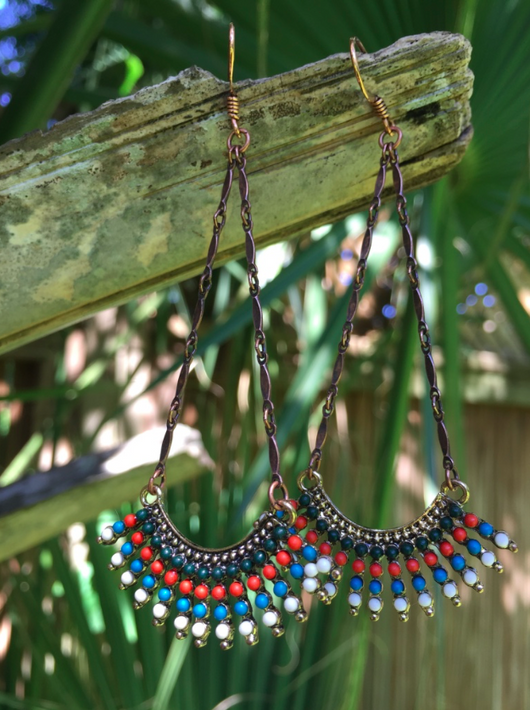 tribal inspired dangles