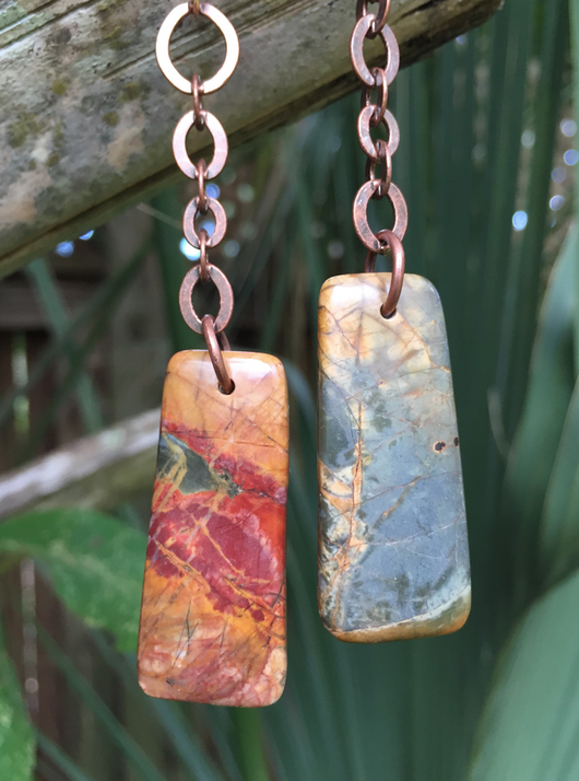 red creek jasper drops