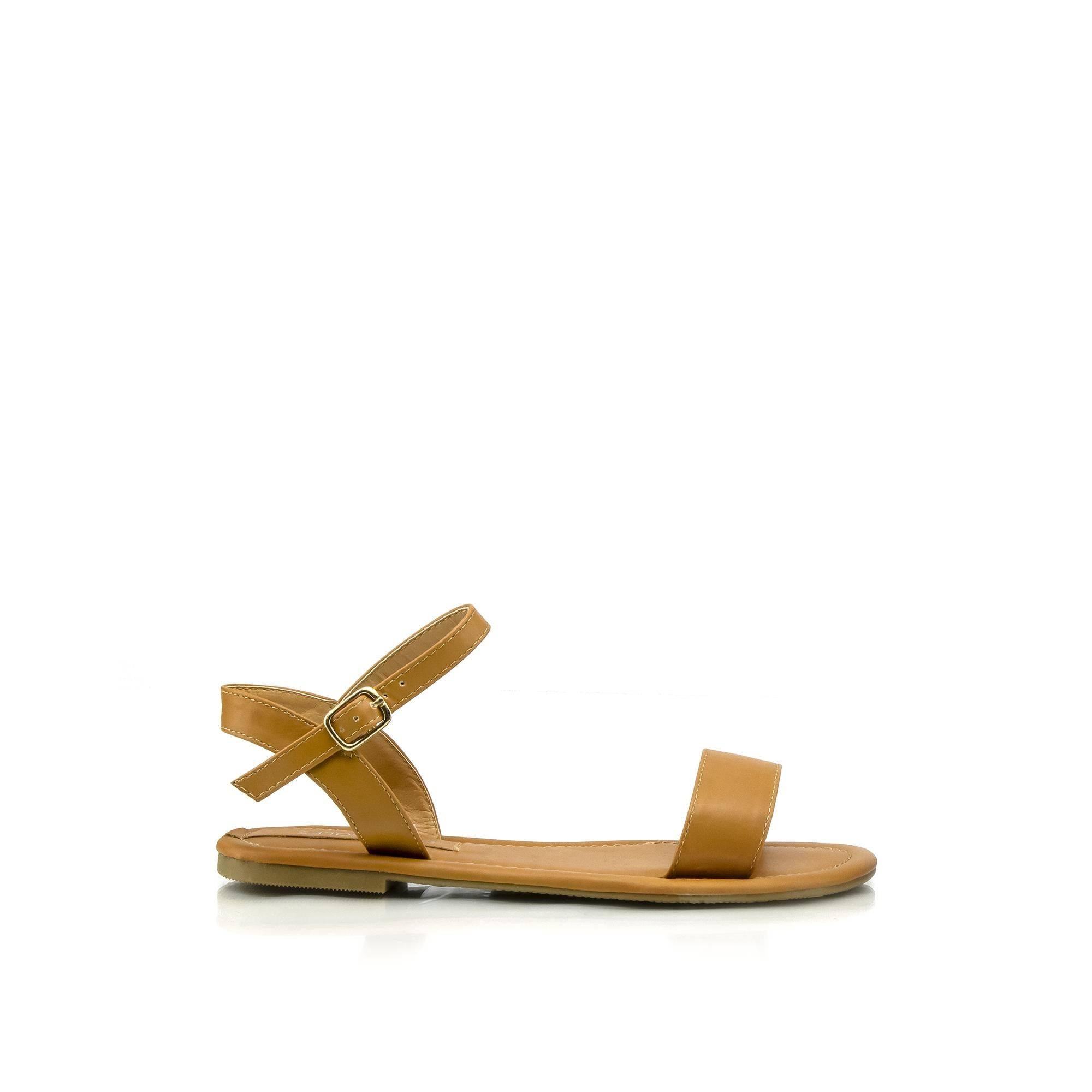 BANKS Faux Leather Sandals