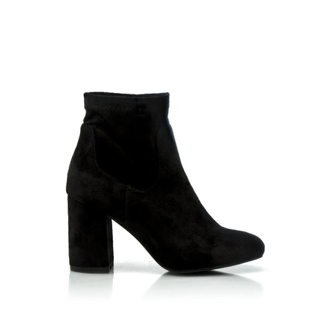 BRANDY Block Heel Ankle Boot