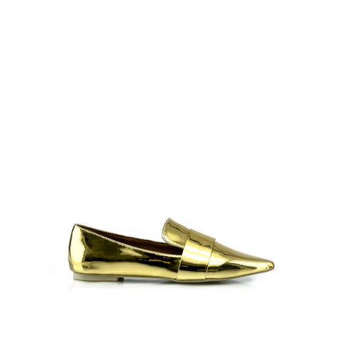 CANDICE Metallic Loafers