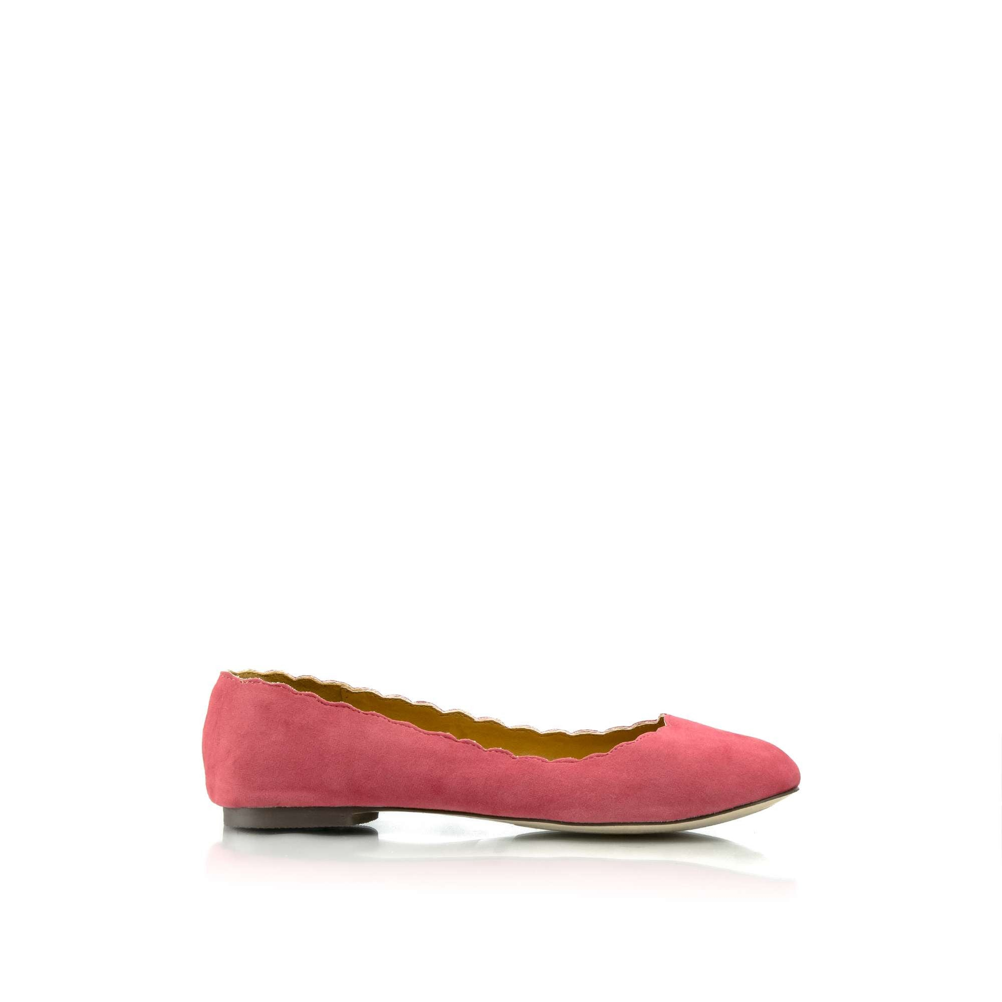 DANIELLA Scalloped Flats