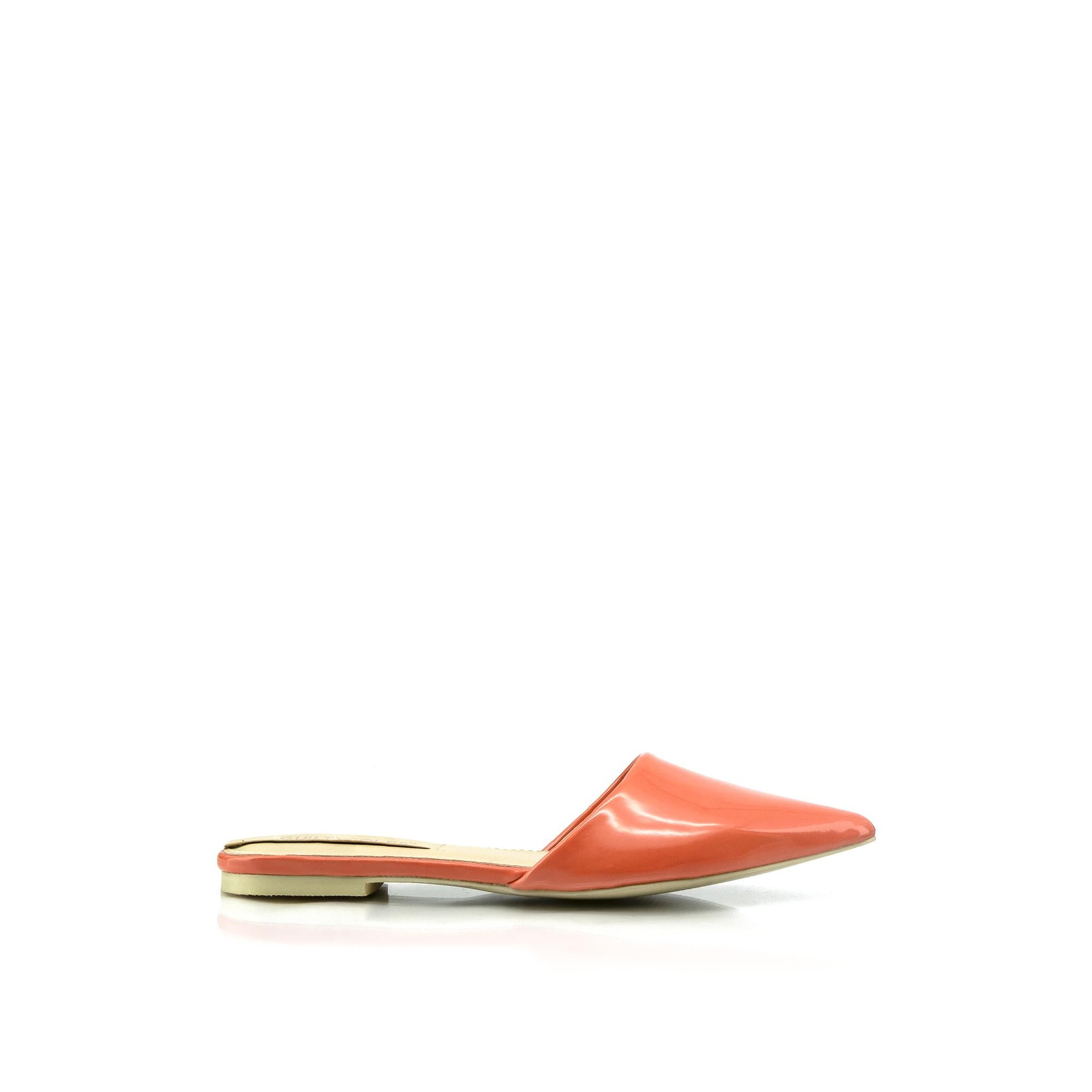 EMILIA Pointed Toe Mule Flats