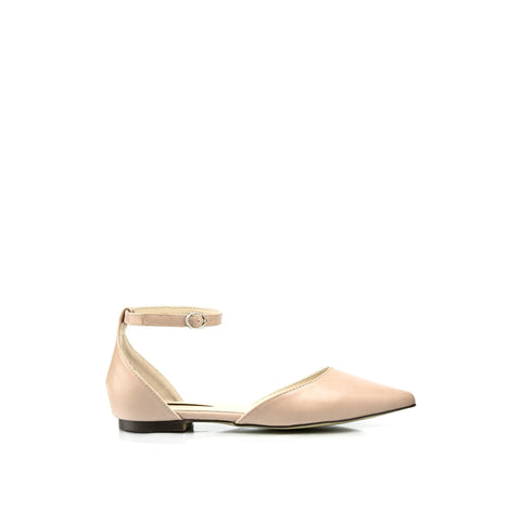 IVETTE Ankle Strap Flats