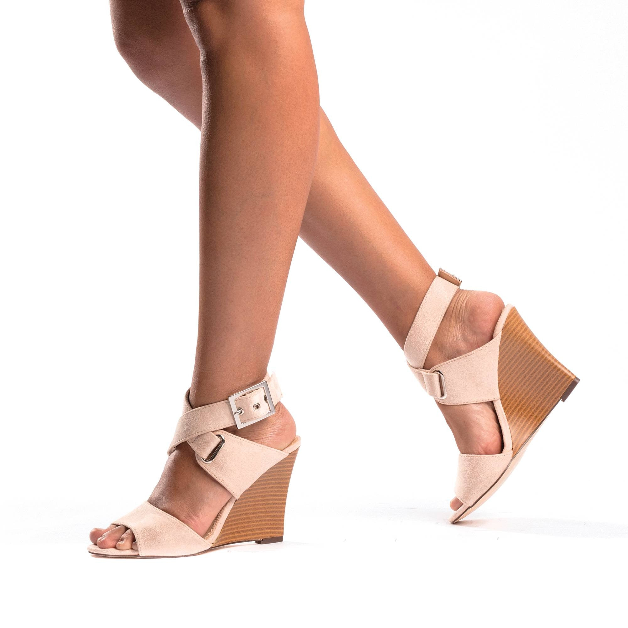 JACQUELYN Ankle Wrap Wedge