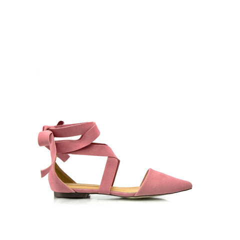 LOLA Ankle Wrap Flats