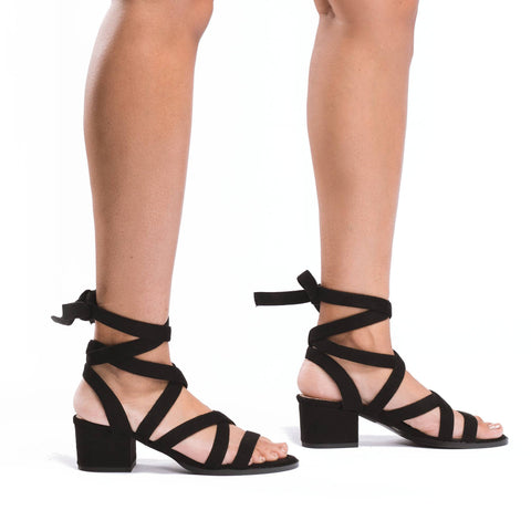 MACHELLE Lace Up Sandal