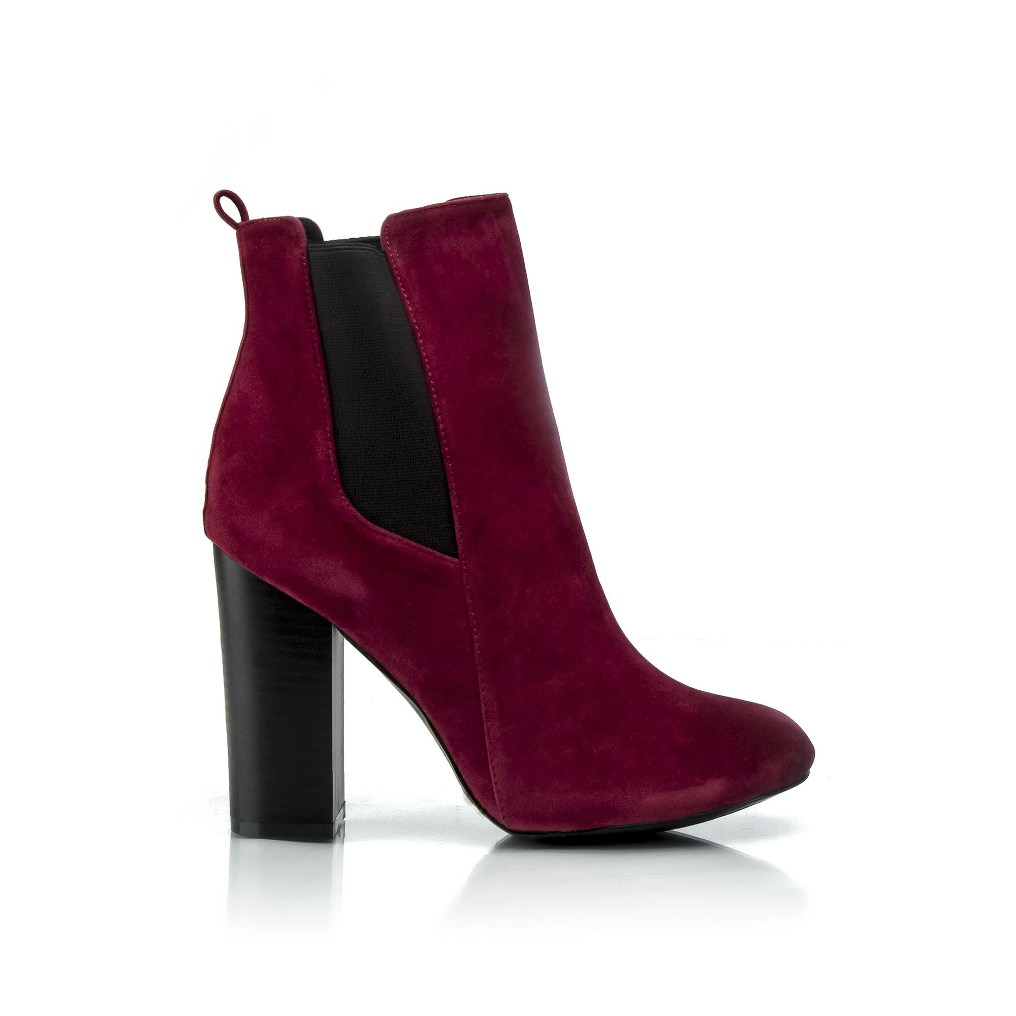 ROSALIE Block Heel Booties