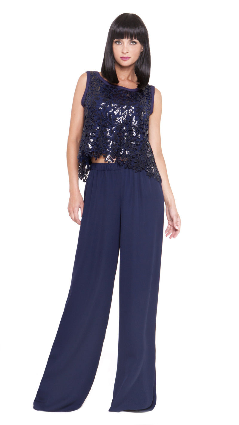 Z Penelope Sequin Embroidery Top