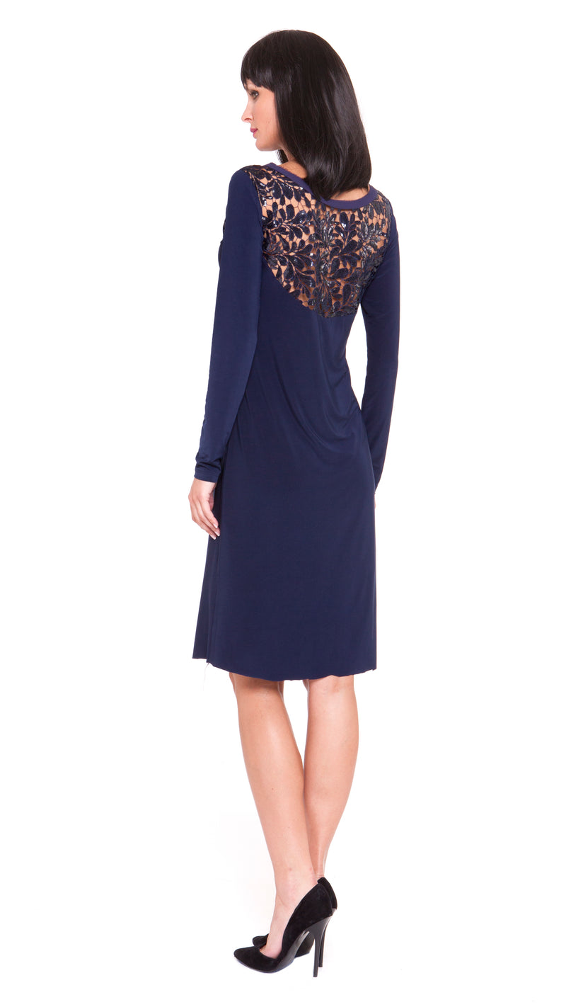 Z Penelope Sequin Embroidery Dress