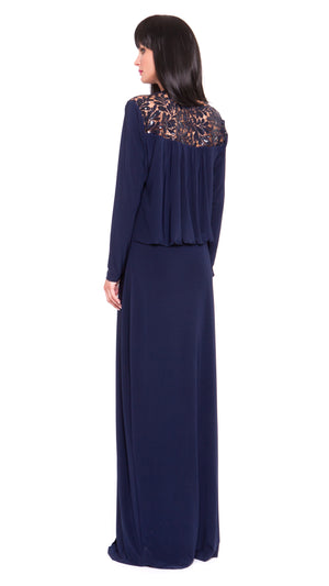 Z Penelope Sequin Embroidery Maxi Dress