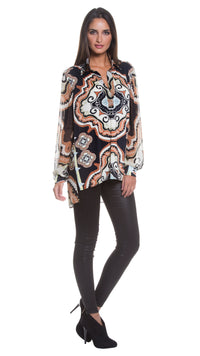 Milly Open Placket Tunic