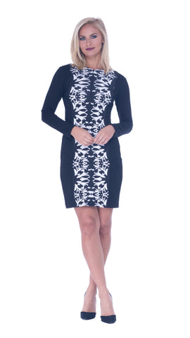 Geraldine Zipper Dress