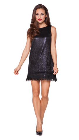 Kay Fringe Shift Dress