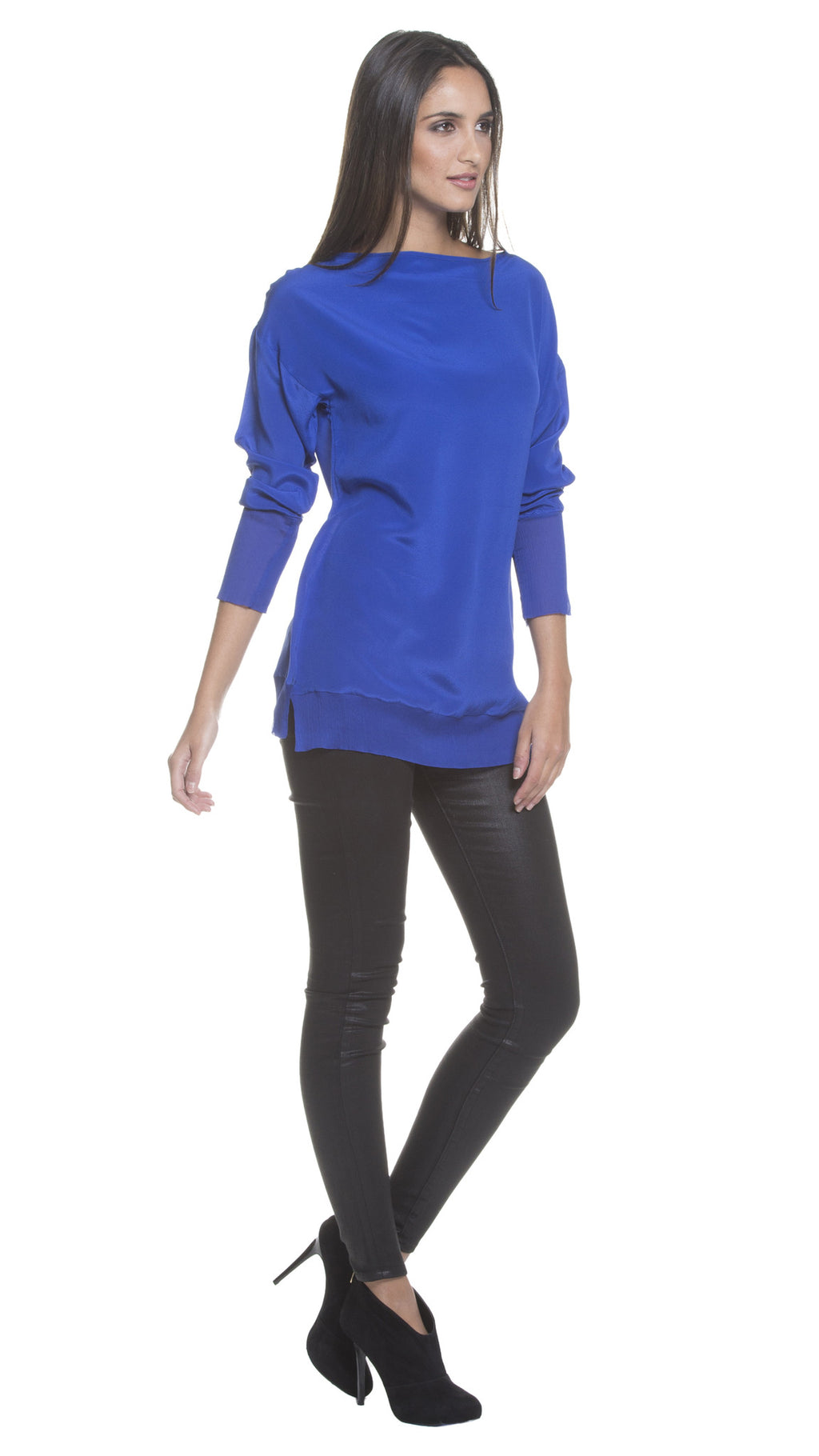 Z Karlie Georgette Panel Top