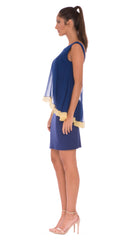 Aileen Floating Drape Dress