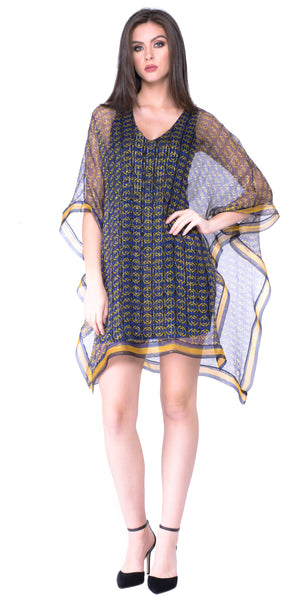 Isa V Neck Open Drap Dress