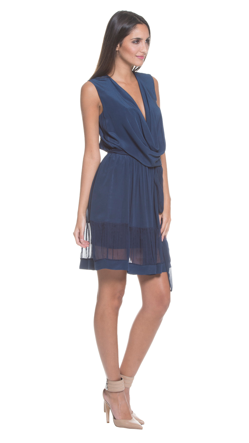 Karlie Silk Reversible Dress