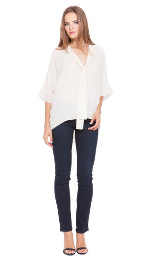 Taylor Neck Tie Top