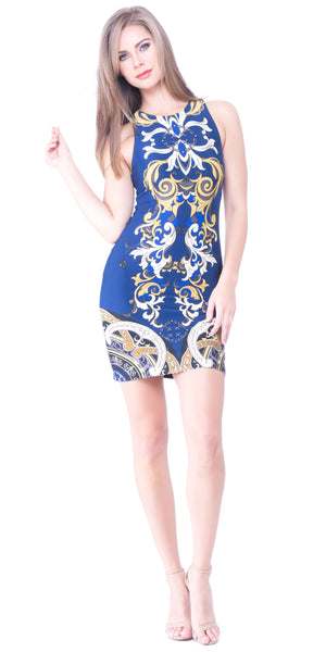 Rory Back Keyhole Dress