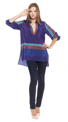 Nora Silk Tunic