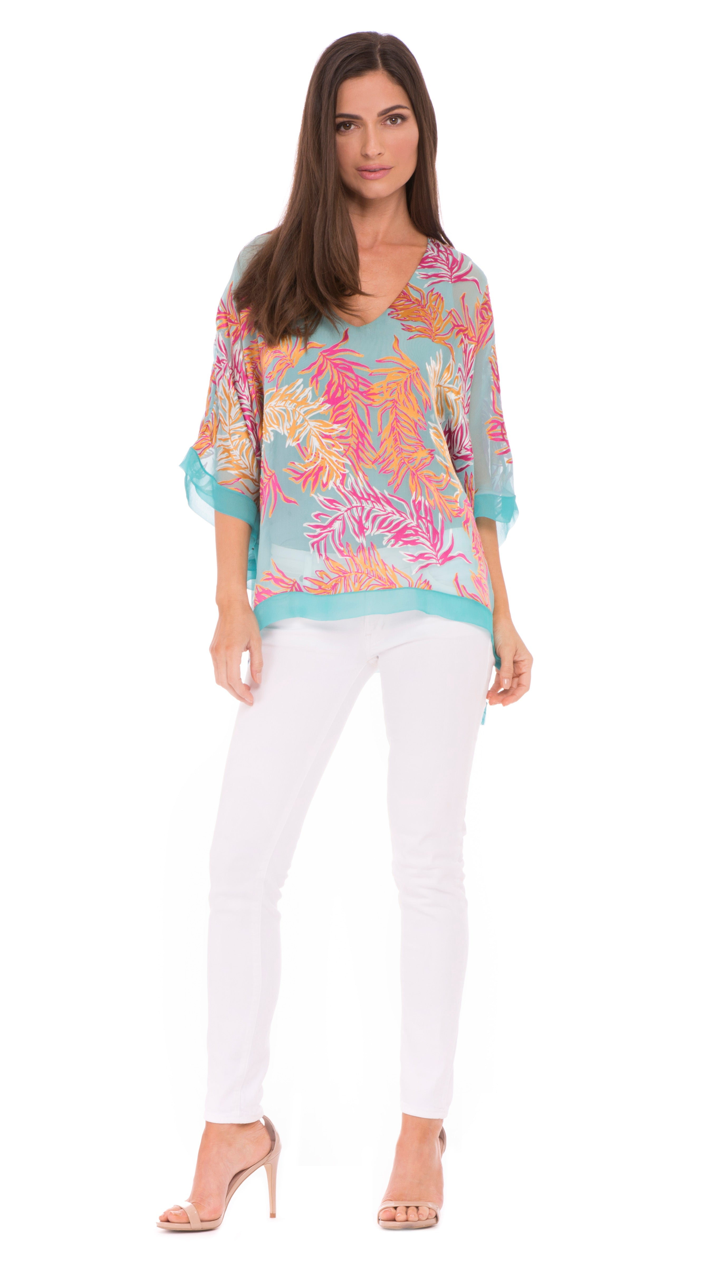 Hailee Open Drape Top