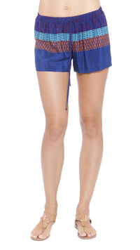 Z Nora Drawstring Silk Shorts
