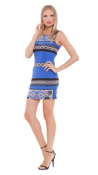 Joanna Boat Neck Dress