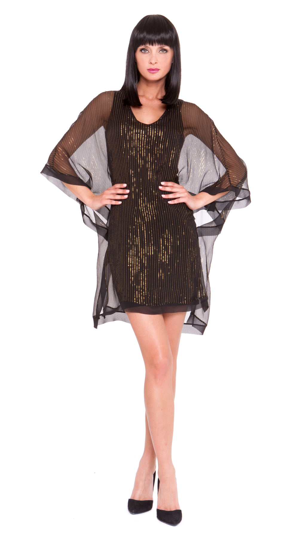 Julisa Open Drape Dress