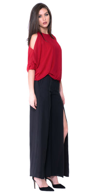 Gabby Open Shoulder Blouse