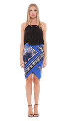 Joanna Faux Wrap Skirt