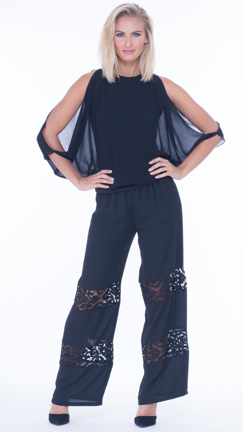 Lisette Lace Drawstring Pants