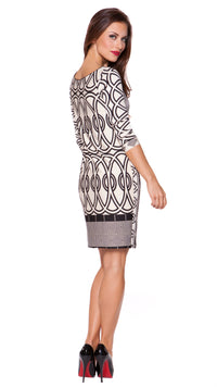 Naomi Keyhole Dress