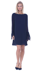 Lisette Boat Neck Dress