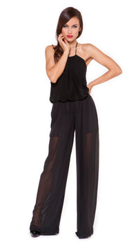 Wendy Chiffon Panel Pants