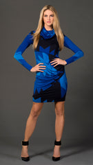Chelsea Asymmetric Panel Dress