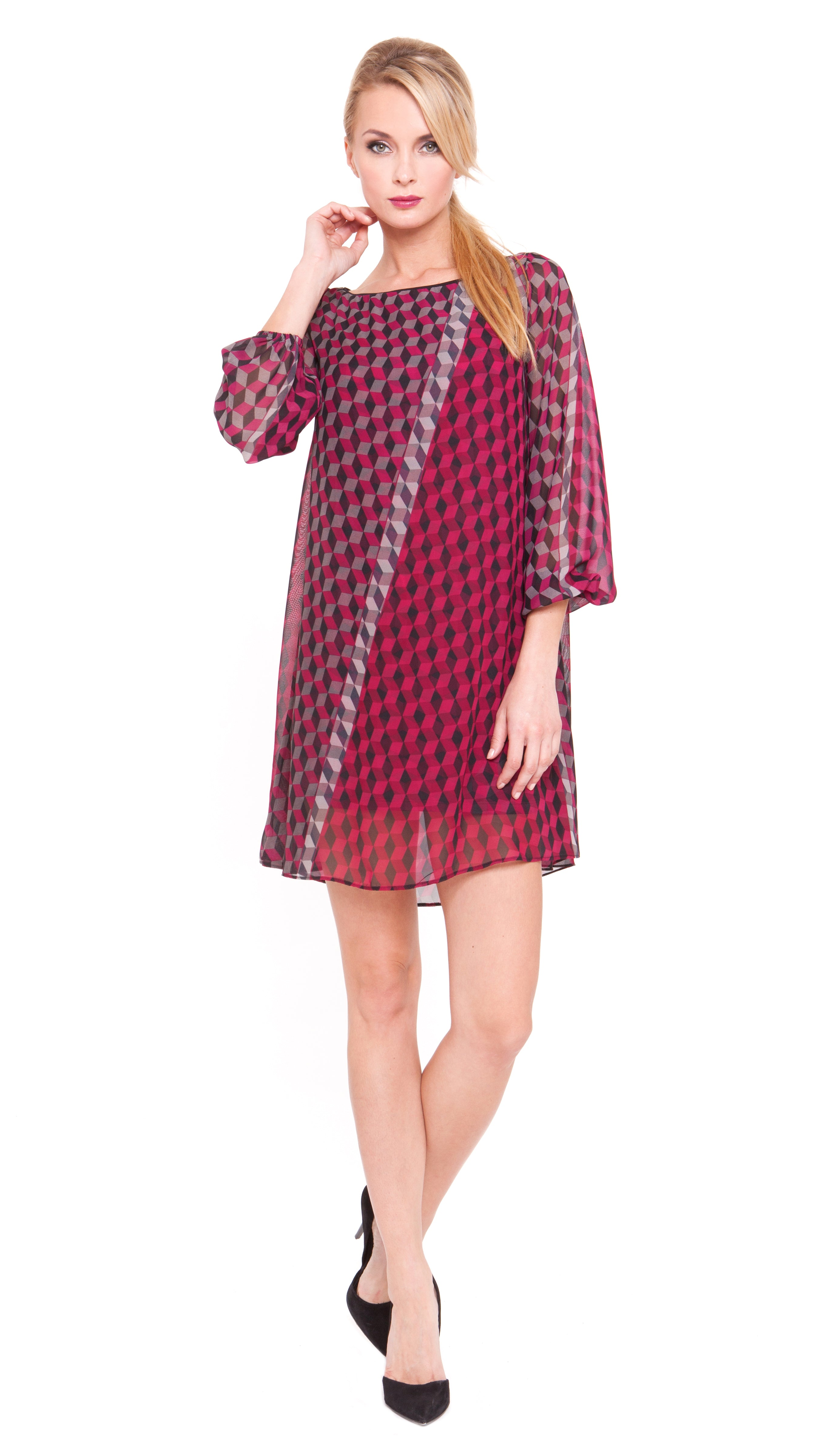 Helen Bishop Sleeve Dress