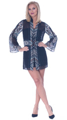 Beatrice Lace Up Bell Sleeve Tunic