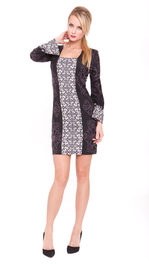 Devlin Square Neck Dress